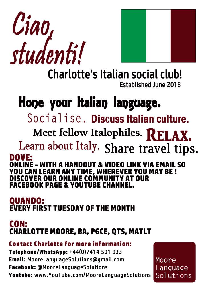 Impariamo Italiano!